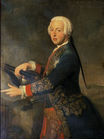 Portrait of Charles I of Brunswick-Lüneburg and Wolfenbüttel (ca. 1740)