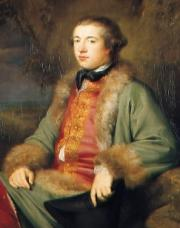 James Boswell, 1765, painted by George Willison