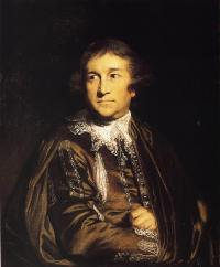 David Garrick (painting by Joshua Reynolds, ca. 1767)