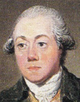 James Craig. Detail from a portrait by David Allan.