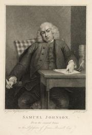 """We cannot tell the precise moment when friendship is formed"" originally appeared in the first edition of Life of Johnson, which had this image of Dr. Johnson as its frontispiece"