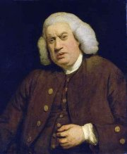 Portrait of Samuel Johnson, painted 1772 by Joshua Reynolds