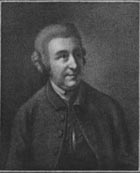 18th century engraving of Thomas Davies reproduced from Roger Ingpen's 1907 edition of The Life of Johnson